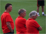 louis van gaal 150x111 Manchester United vs Inter Milan, International Champions Cup In Maryland [PHOTOS]