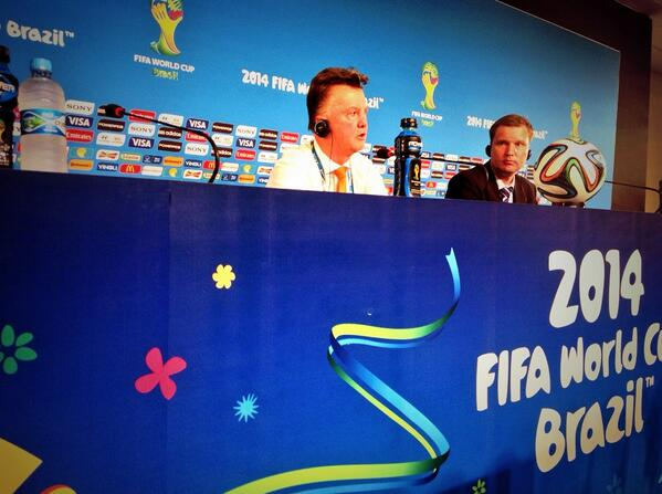 louis van gaal1 Louis van Gaals Football Philosophy Embraced By Dutch Players Ahead of Argentina Semifinal