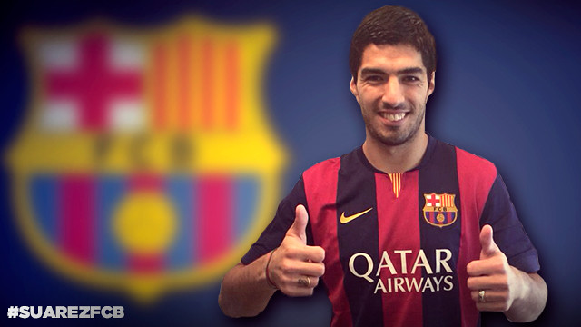 luis suarez1 Barcelona Complete £63.4 Million Deal to Sign Luis Suarez