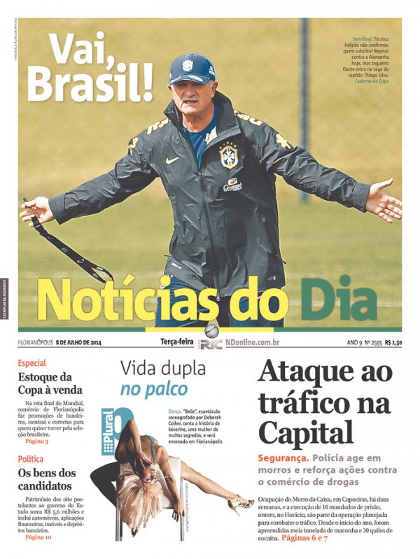 luiz felipe scolari 600x799 Who Brazil Should Play Against Germany With Neymar and Thiago Silva Unavailable