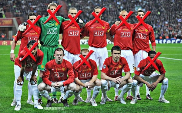 man united 600x375 End of an Era For Manchester United Stars Heralds a New Beginning For Younger Players