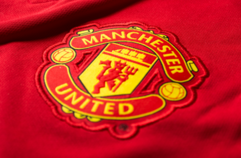 man united home shirt crest Manchester United Home and Away Shirts For 2014/15 Season: New Leaked [PHOTOS]