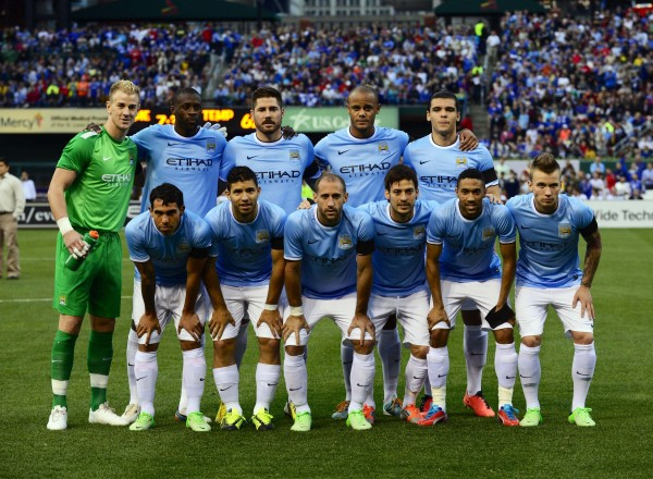 manchester city 600x440 Manchester City Reveal 27 Man Squad For International Champions Cup