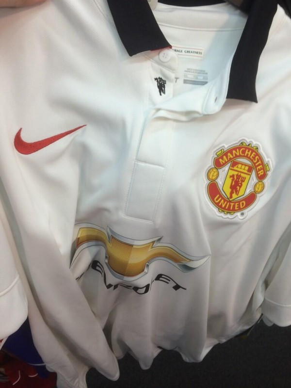 Manchester United Away Shirt For 2014/15 Season: New Leaked [PHOTOS]