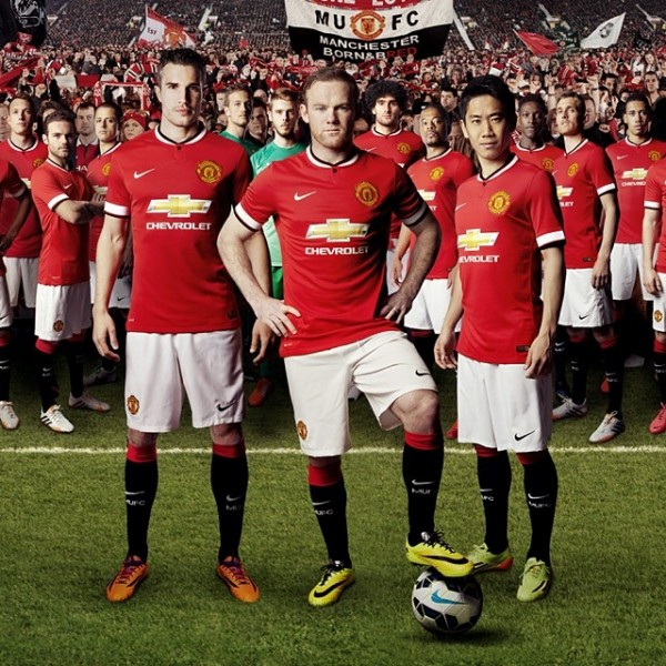 manchester united home shirt1 600x600 All You Need to Know About the International Champions Cup