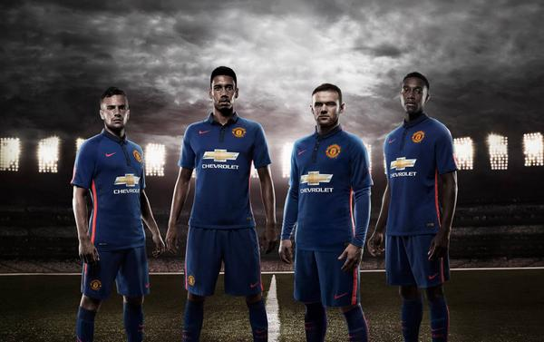 Manchester United Unveil Third Shirt For 2014/15 Season: Official [PHOTOS]
