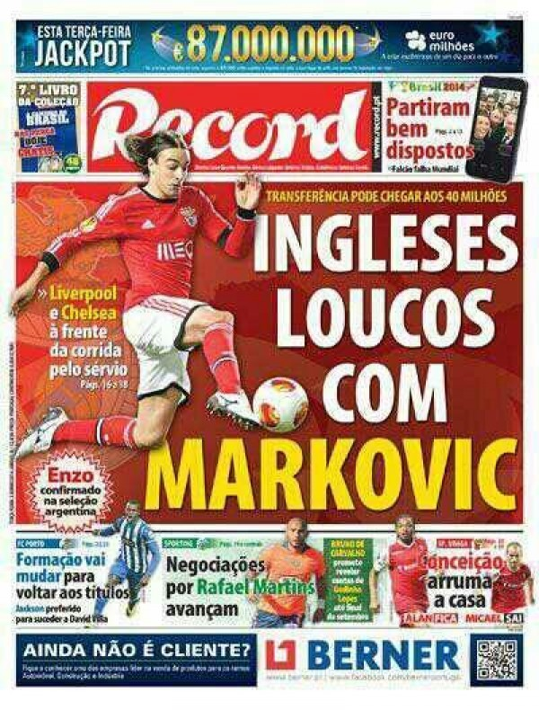 Liverpool Close in on Lazar Marković Signing