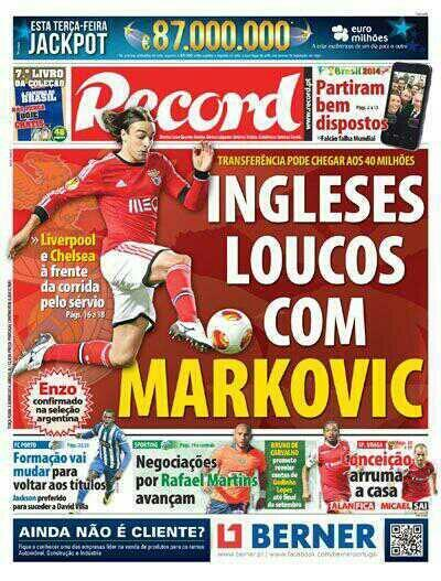 markovic Liverpool Close in on Lazar Marković Signing