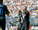 nemanja vidic 150x119 Real Madrid vs Inter Milan: International Champions Cup Game at Berkeley [PHOTOS]