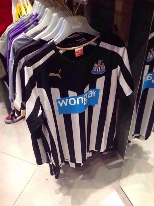 Newcastle United Home Shirt For 2014/15 Season: Leaked [PHOTOS]