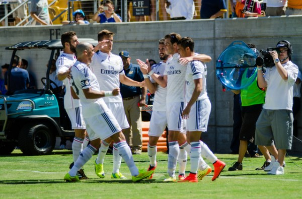 real madrid1 600x395 Real Madrid vs Inter Milan: International Champions Cup Game at Berkeley [PHOTOS]