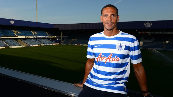 rio ferdinand1 600x337 Rio Ferdinand Joins QPR On A Free Transfer