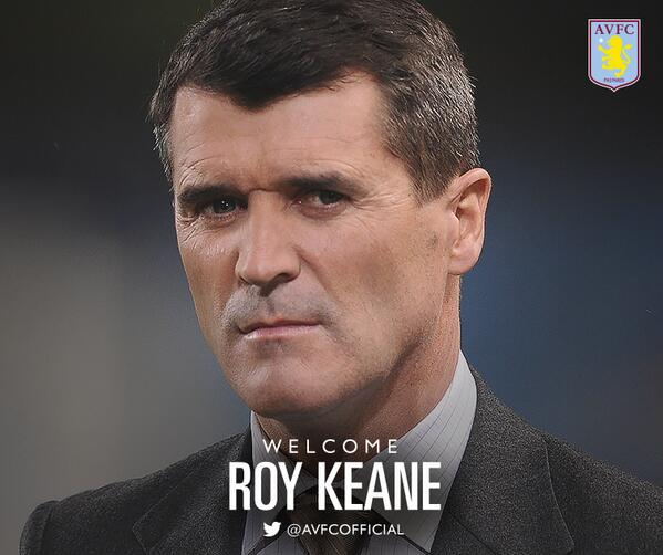 roy keane Roy Keane Joins Aston Villa, And is Now One Step Away From Becoming a Premier League Manager Again