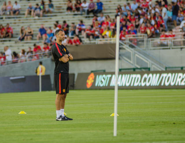 ryan giggs LA Galaxy 0 7 Manchester United: A Night to Remember For Red Devils Fans [PHOTOS]