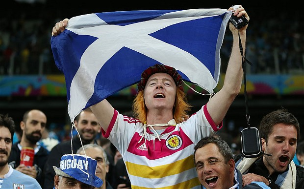 scotland fan One Major Reason Why Germany Has Been More Successful Than England in World Cup 2014