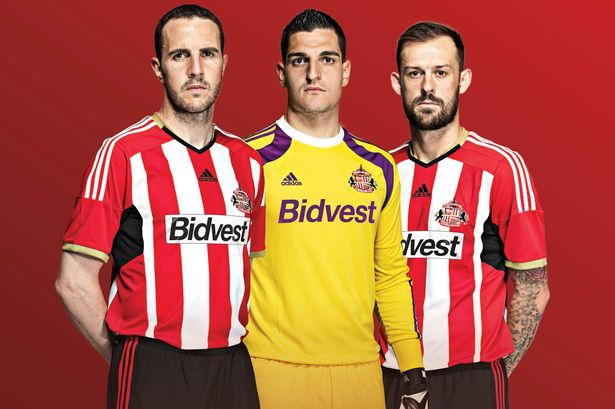 sunderland home shirt 2014 15 season Sunderland Unveil Home Shirt For 2014/15 Season: Official [PHOTOS]