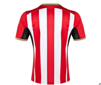 sunderland home shirt back Sunderland Unveil Home Shirt For 2014/15 Season: Official [PHOTOS]