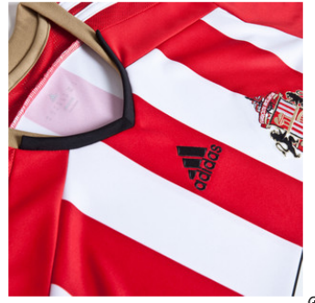 sunderland home shirt closeup Sunderland Unveil Home Shirt For 2014/15 Season: Official [PHOTOS]