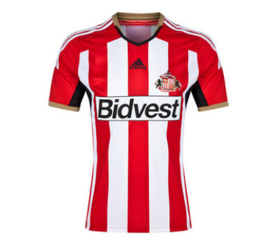 sunderland home shirt front Sunderland Unveil Home Shirt For 2014/15 Season: Official [PHOTOS]