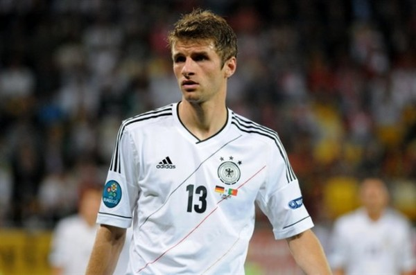 thomas muller 600x397 Thomas Mullers Unconventional Style Produces Goals For Germany