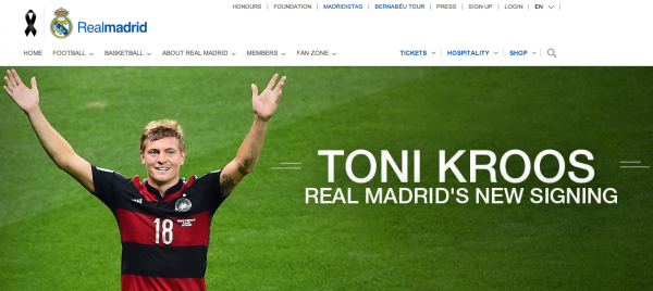 toni kroos 600x268 Real Madrid Announce Signing of Toni Kroos And Continue To Flex Its Global Muscle