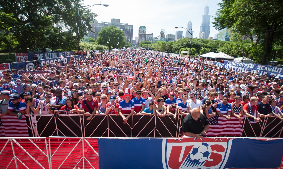 U.S. Soccer World Cup Viewing Party - USMNT v Portugal