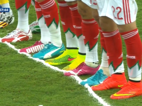 Vanishing spray