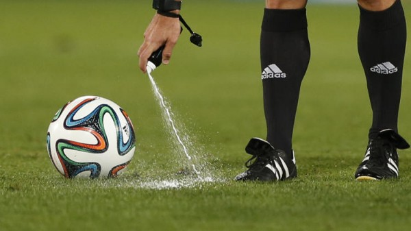 Premier League To Use Vanishing Spray Beginning This Season
