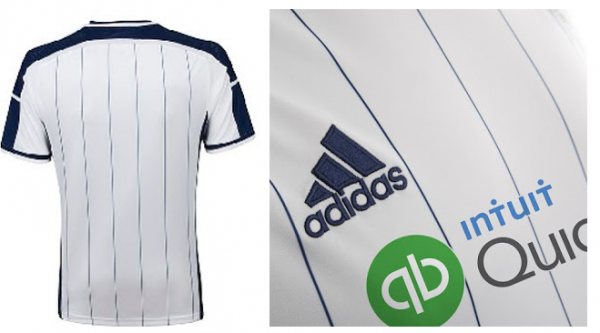 wba home shirt back 600x333 West Bromwich Albion Unveil Controversial Home Shirt For 2014/15: Official [PHOTOS]