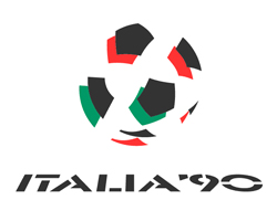 world cup 1990 Official World Cup Logos From 1930 to 2014 [PHOTOS]