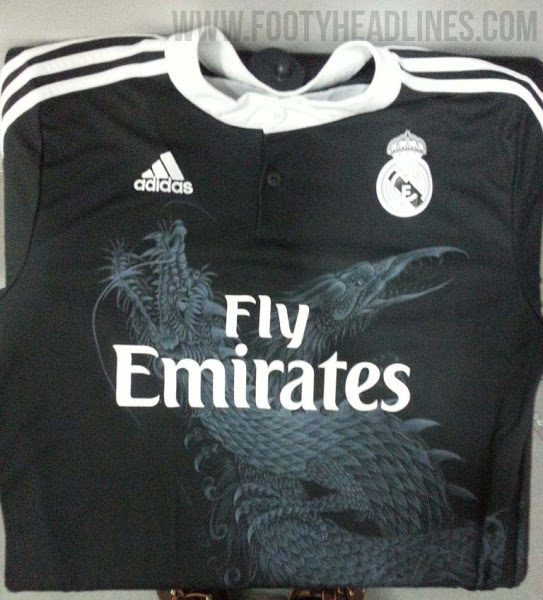 Real Madrid s 2014 15 Black Third Kit Reviewed   PHOTOS  - World ... c12ee991a