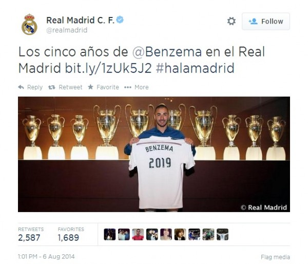 Benzema 600x514 Karim Benzema Extends His Contract With Real Madrid