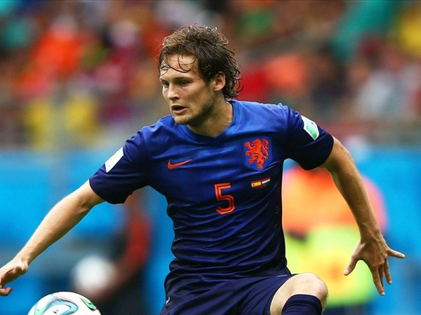 Manchester United Agree £14 Million Fee For Daley Blind, Say Reports