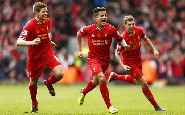 Coutinho 600x374 Top 5 Must See Soccer Games On TV This Weekend