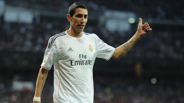 Angel di Maria Capture Only One Piece Of The Manchester United Jigsaw Puzzle