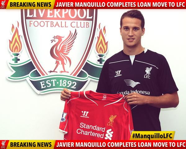 Javier Manquillo Atletico Madrids Javier Manquillo Completes Loan Move To Liverpool