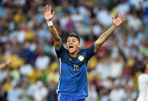 Marcos Rojo 600x411 Manchester United Confirms £16m Signing of Marcos Rojo, While Nani Joins Sporting On Loan