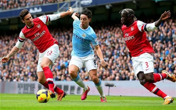 Nasri 600x374 Join us in the English Premier League Chat this Weekend
