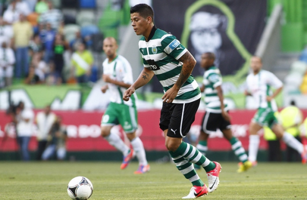 Rojo 600x391 Manchester United Tables £16million Bid For Sporting Lisbons Marcos Rojo, Say Reports