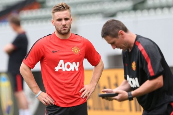 Shaw 600x399 Analyzing Manchester Uniteds Summer Transfer Window