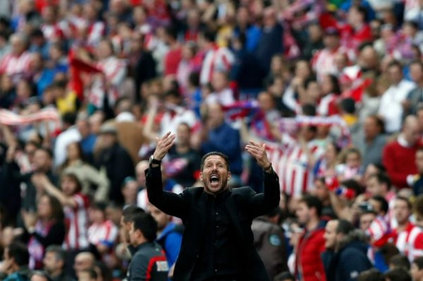 "Diego Simeone And Atletico Madrid Play Their Own Version Of ""Total Football"""