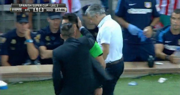 Diego Simeone Facing Lengthy Ban Following Spanish Super Cup Antics [VIDEO]