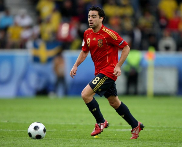 Xavi 600x485 Xavi Retires From International Football