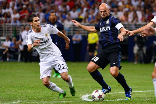 angel di maria 600x400 Carlo Ancelotti Confirms That Angel Di Maria Is Leaving Real Madrid; Could Be United Bound