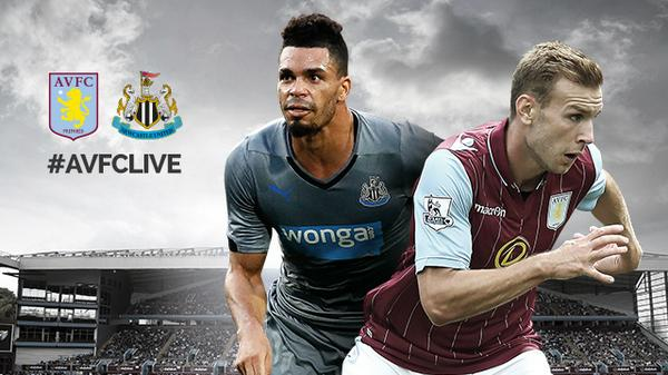Aston Villa vs Newcastle United: Starting Lineups, TV Times and Open Thread
