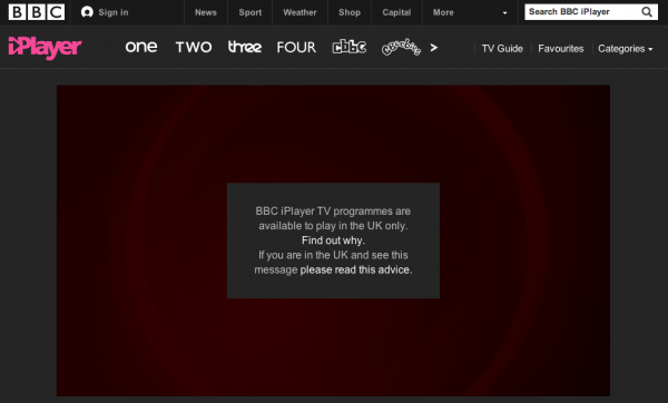 bbc geo restricted 600x362 How to Use a VPN to Watch BBC's Match of the Day