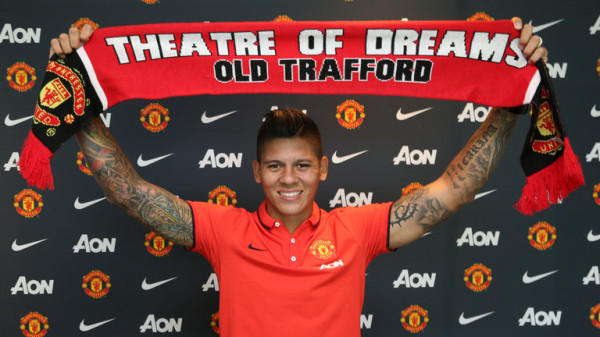 club marcos rojo manchester united 3193393 600x337 Manchester United Defender Marcos Rojo Has Been Granted His Work Permit