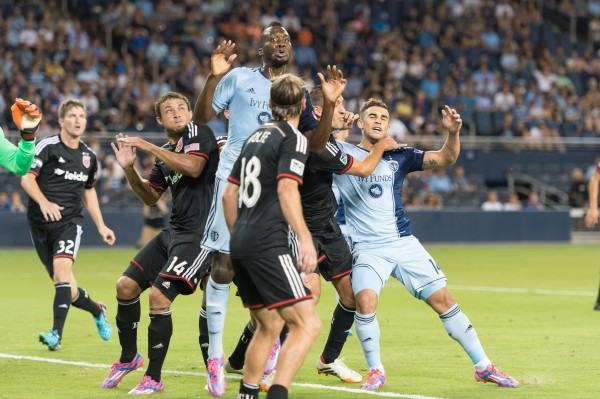 dc photo 6 600x399 Sporting Kansas City 0 3 D.C United (Photos)