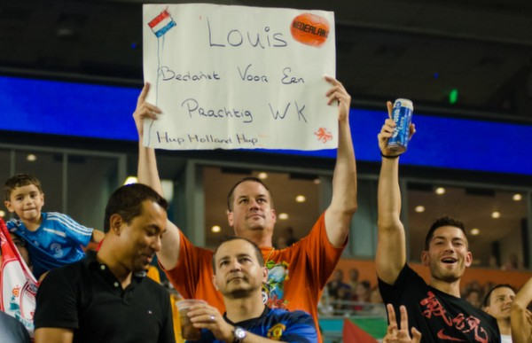 dutch fan 600x387 Manchester United vs Liverpool, International Champions Cup Final in Miami [PHOTOS]