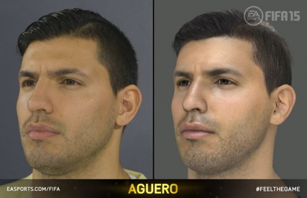 fifa15 headscan aguero 2 600x387 New Features in FIFA 15 Enhance Gaming Experience [VIDEO]